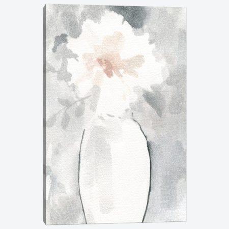 Silver Blush I Canvas Print #CRO543} by Carol Robinson Canvas Wall Art