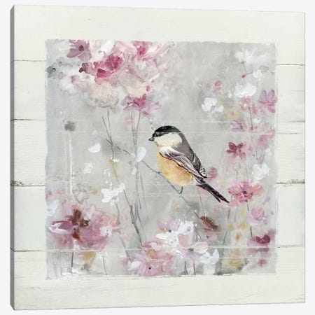 Sitting Pretty Shiplap II Canvas Print #CRO546} by Carol Robinson Art Print