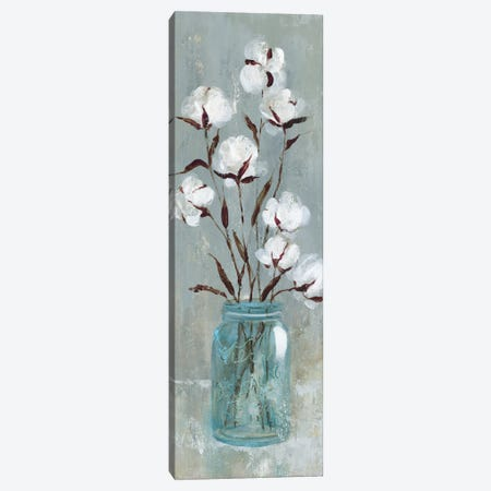 Stalks Of Cotton I Canvas Print #CRO547} by Carol Robinson Canvas Art Print