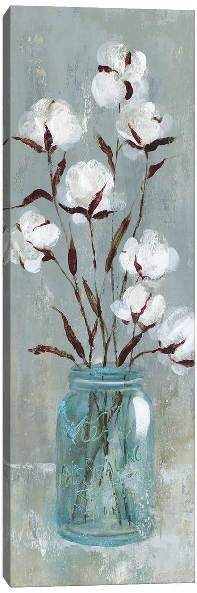 Stalks Of Cotton I Canvas Art Print