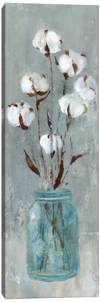 Stalks Of Cotton II Canvas Art Print
