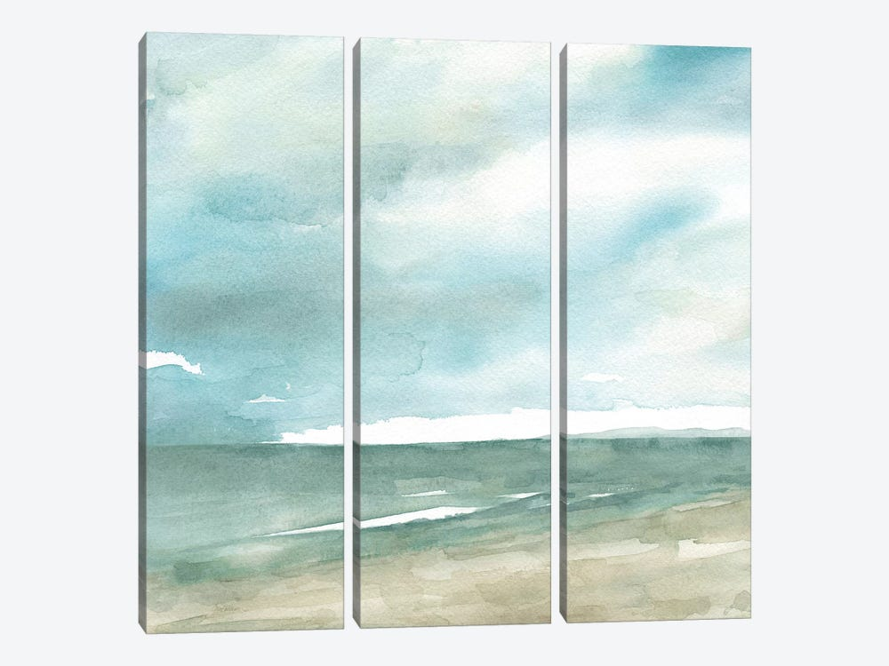 Tranquil Seas by Carol Robinson 3-piece Canvas Print