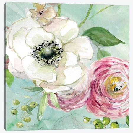 Asbury Garden Bloom III Canvas Print #CRO55} by Carol Robinson Canvas Artwork