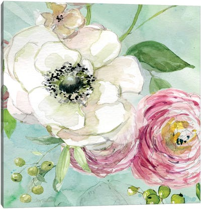 Asbury Garden Bloom III Canvas Art Print