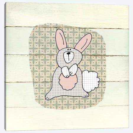 Woodland Creatures Rabbit Canvas Print #CRO562} by Carol Robinson Canvas Art