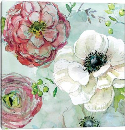 Asbury Garden Bloom IV Canvas Print #CRO56