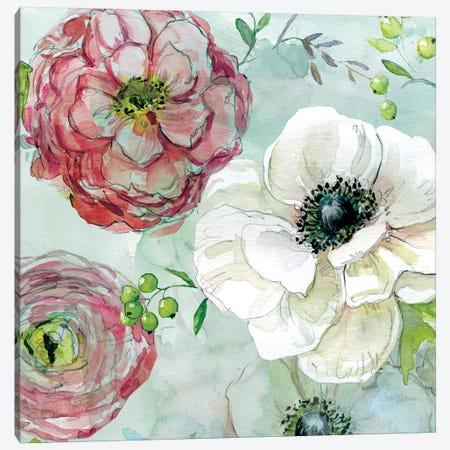 Asbury Garden Bloom IV Canvas Print #CRO56} by Carol Robinson Canvas Art