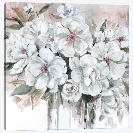 Blushing Bouquet Canvas Print #CRO576} by Carol Robinson Canvas Artwork