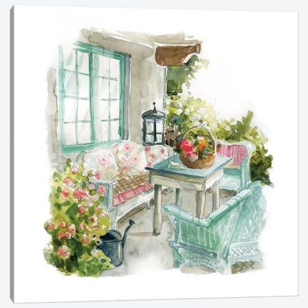 Cottage Retreat Canvas Print #CRO579} by Carol Robinson Canvas Print