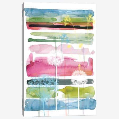 Asbury Garden Summer Silhouette II Canvas Print #CRO57} by Carol Robinson Canvas Art