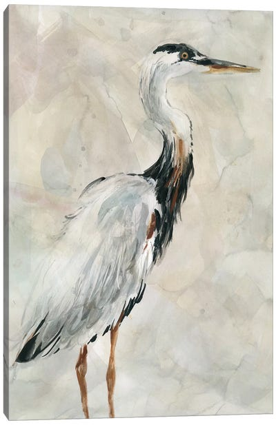 Crane at Dusk I Canvas Art Print