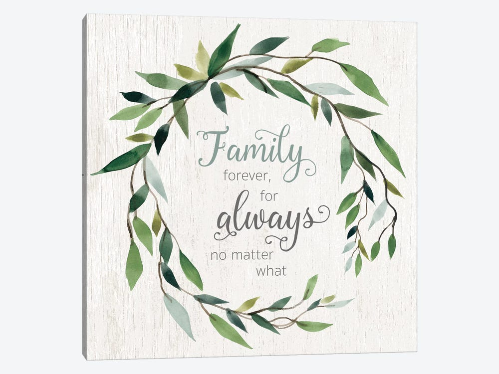 Family Forever by Carol Robinson 1-piece Canvas Wall Art