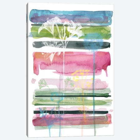 Asbury Garden Summer Silhouette III Canvas Print #CRO58} by Carol Robinson Canvas Print