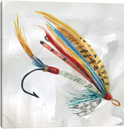 Fly Hook I Canvas Art Print