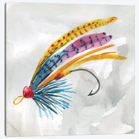 Fly Hook III Canvas Print #CRO600} by Carol Robinson Art Print