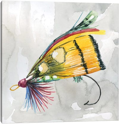 Fly Hook IV Canvas Art Print
