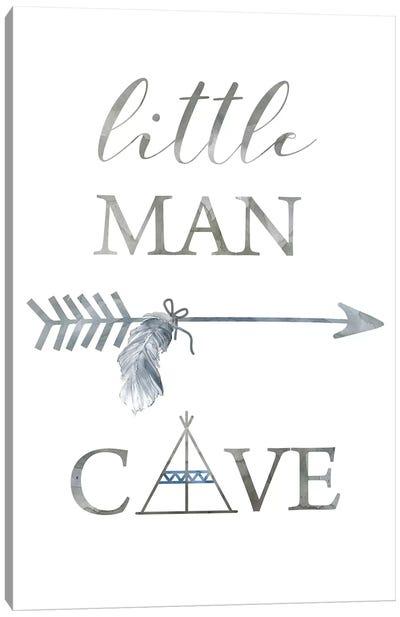 Little Man Cave Arrow Canvas Art Print