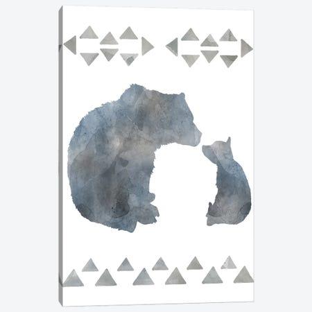 Little Man Cave Bears Canvas Print #CRO625} by Carol Robinson Canvas Wall Art