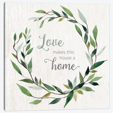 Love Home Canvas Print #CRO632} by Carol Robinson Canvas Artwork