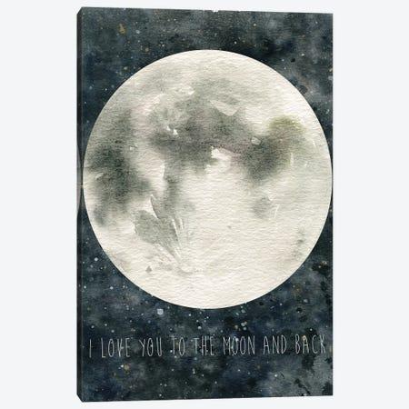 Moon Love 3-Piece Canvas #CRO644} by Carol Robinson Canvas Artwork