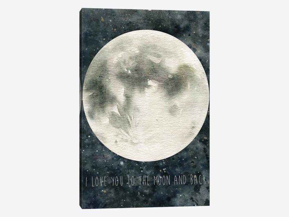 Moon Love by Carol Robinson 1-piece Art Print