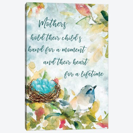 Mother's Nest I Canvas Print #CRO645} by Carol Robinson Canvas Wall Art