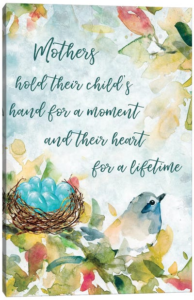Mother's Nest I Canvas Art Print