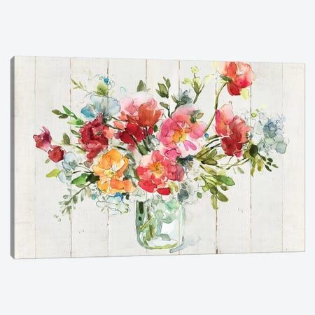 My Summer Garden I Canvas Print #CRO647} by Carol Robinson Canvas Wall Art