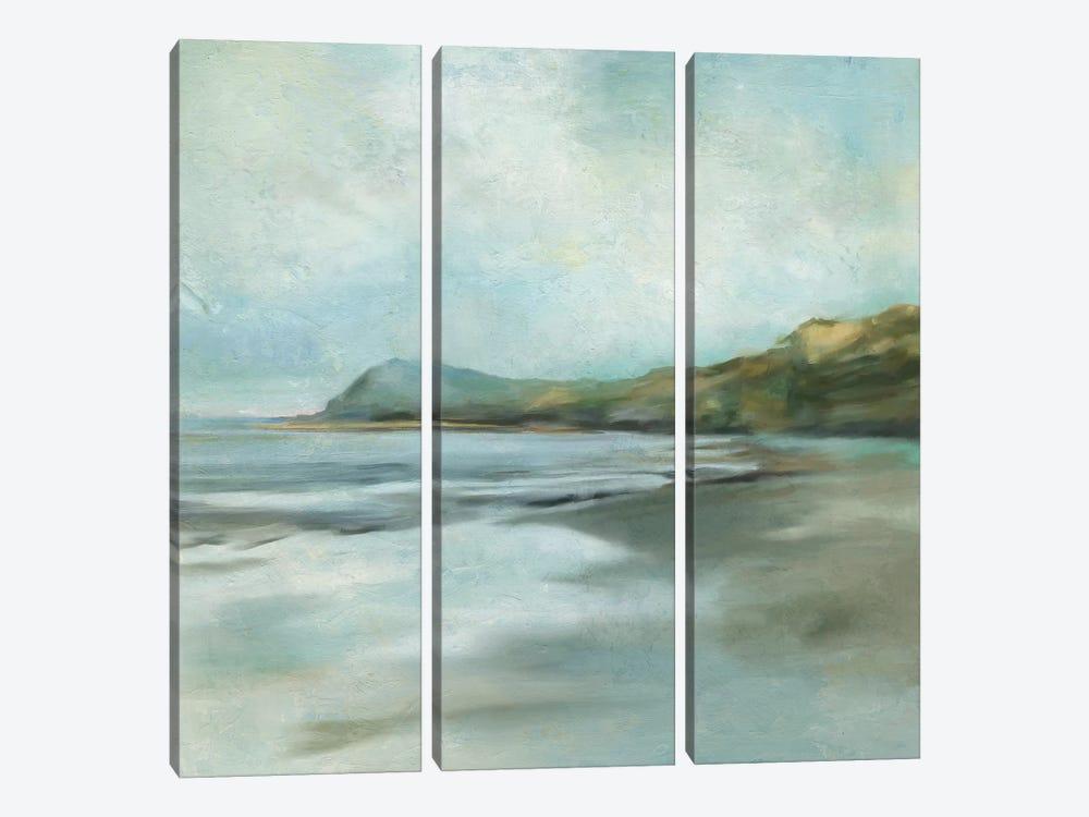 Ocean Cliffs by Carol Robinson 3-piece Canvas Art Print