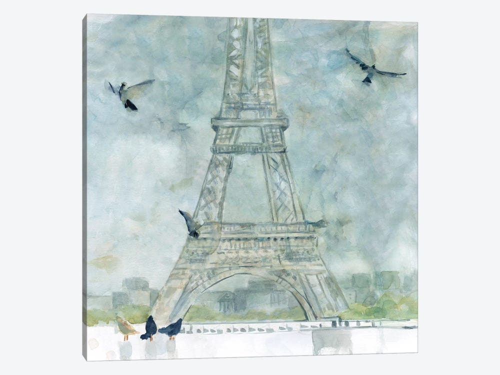 Paris in Flight by Carol Robinson 1-piece Canvas Art Print