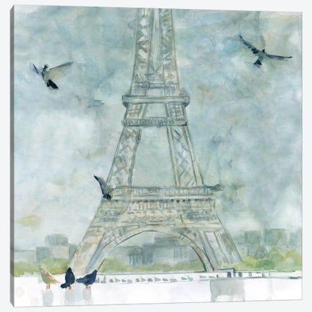 Paris in Flight Canvas Print #CRO657} by Carol Robinson Canvas Print