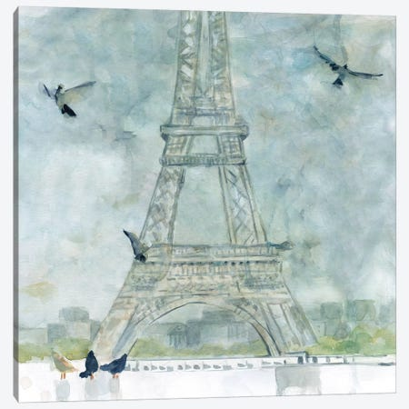 Paris in Flight Canvas Print #CRO657} by Carol Robinson Canvas Print