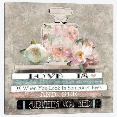 Perfume Love Canvas Print #CRO660} by Carol Robinson Art Print