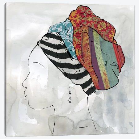 Portrait of Africa II Canvas Print #CRO665} by Carol Robinson Canvas Artwork