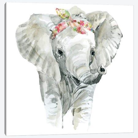 Savannah Elephant Canvas Print #CRO674} by Carol Robinson Canvas Print
