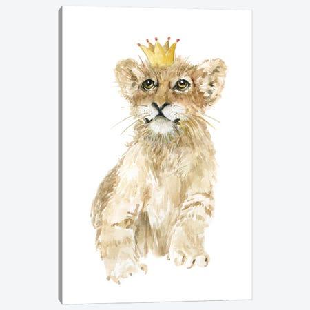 Savannah Lion Cub Canvas Print #CRO676} by Carol Robinson Art Print