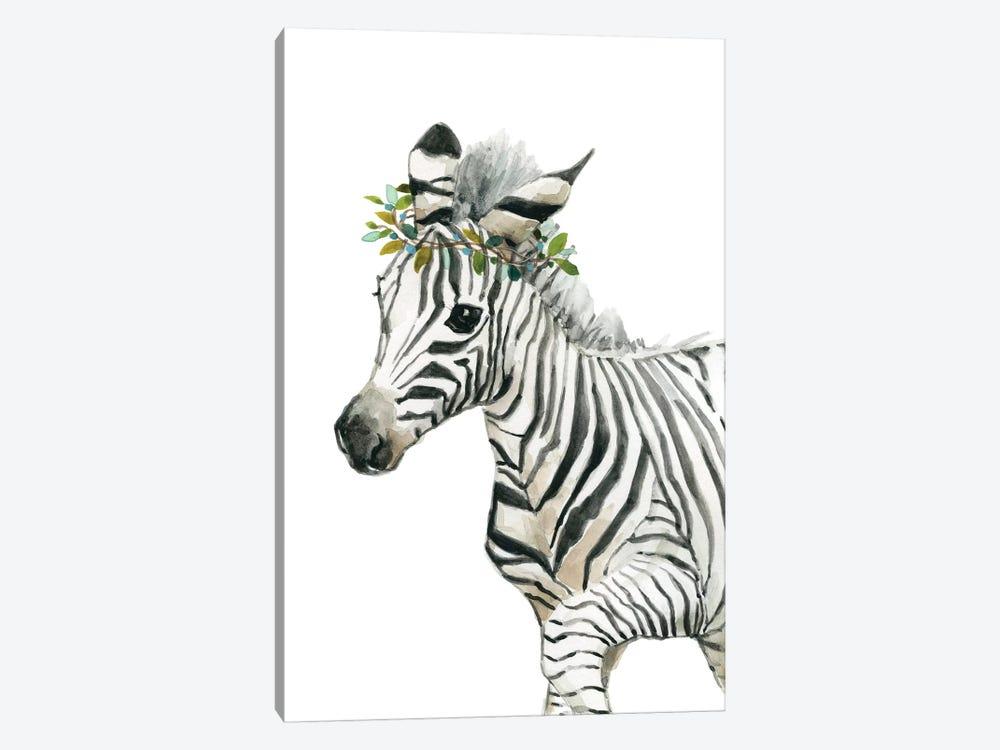 Savannah Zebra by Carol Robinson 1-piece Canvas Print