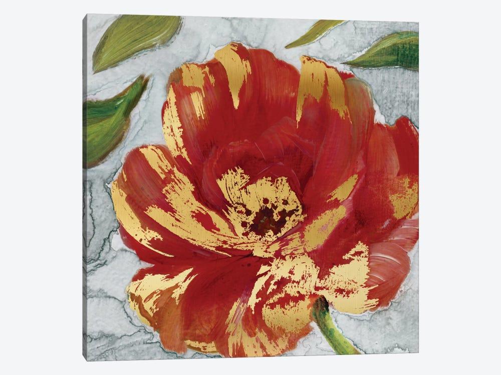 Crimson Crush II by Carol Robinson 1-piece Canvas Artwork