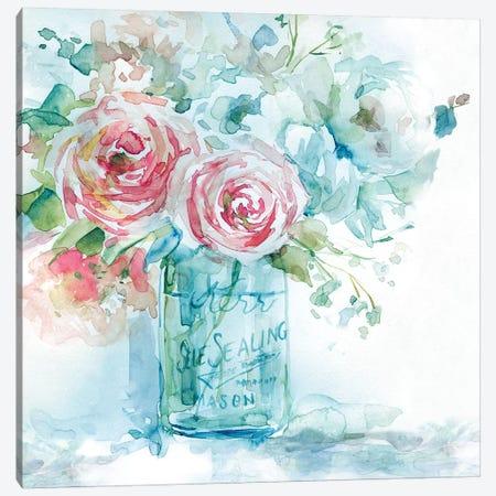 Sea & Glass I Canvas Print #CRO682} by Carol Robinson Canvas Art Print