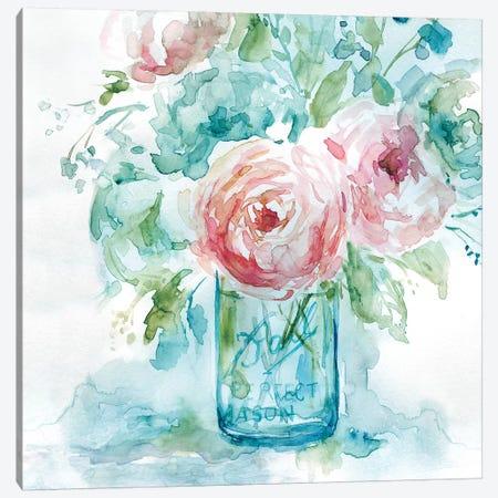 Sea & Glass II Canvas Print #CRO683} by Carol Robinson Art Print