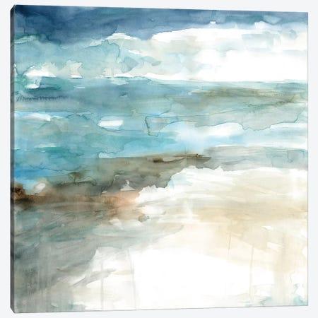 Shimmering Sea and Shore Canvas Print #CRO686} by Carol Robinson Canvas Art