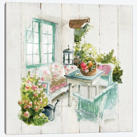 Shiplap Cottage Retreat Canvas Print #CRO689} by Carol Robinson Canvas Art Print