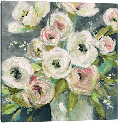Summer Ranunculus Canvas Art Print