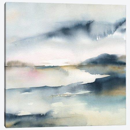 Sunwashed Horizon Canvas Print #CRO704} by Carol Robinson Canvas Print