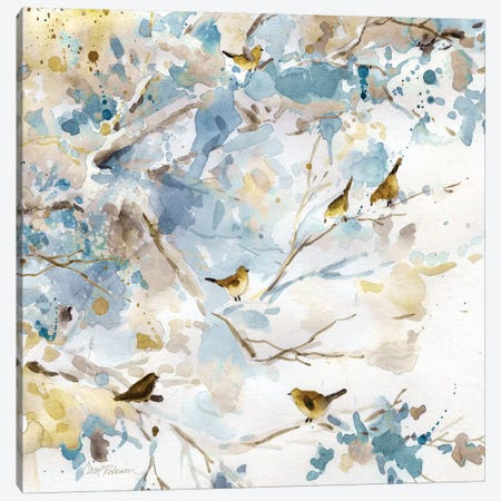 Topaz Spring I Canvas Print #CRO706} by Carol Robinson Art Print