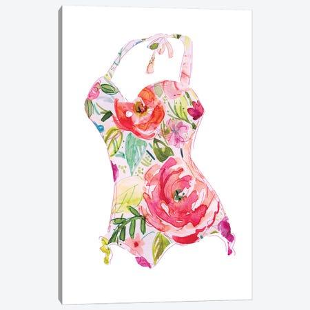 Tropical Swimwear II Canvas Print #CRO713} by Carol Robinson Canvas Print