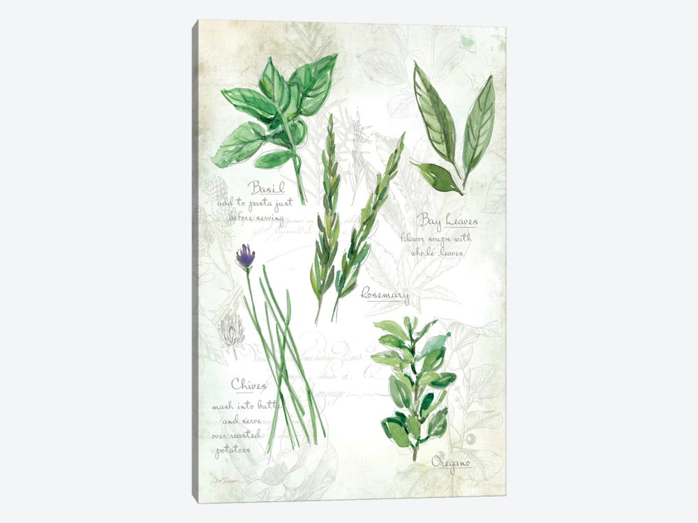 Fresh Herbs I by Carol Robinson 1-piece Art Print