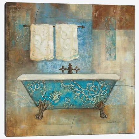 Aqua Spa I Canvas Print #CRO730} by Carol Robinson Canvas Print