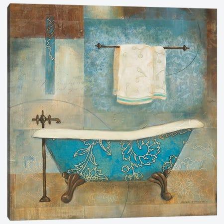 Aqua Spa II Canvas Print #CRO731} by Carol Robinson Canvas Print