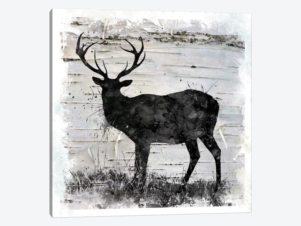 Birchbark Deer by Carol Robinson 1-piece Canvas Art